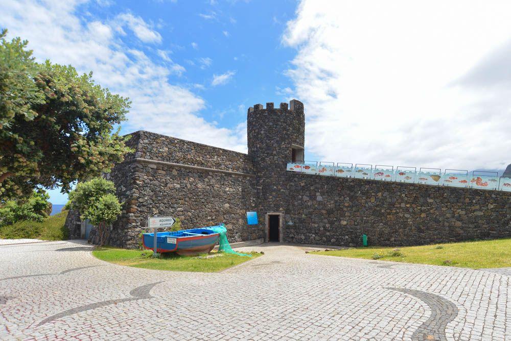 Madeira Aquarium Porto Moniz